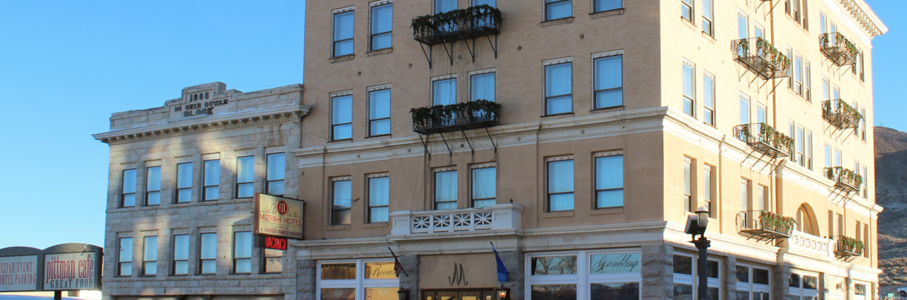 Haunted Mizpah Hotel